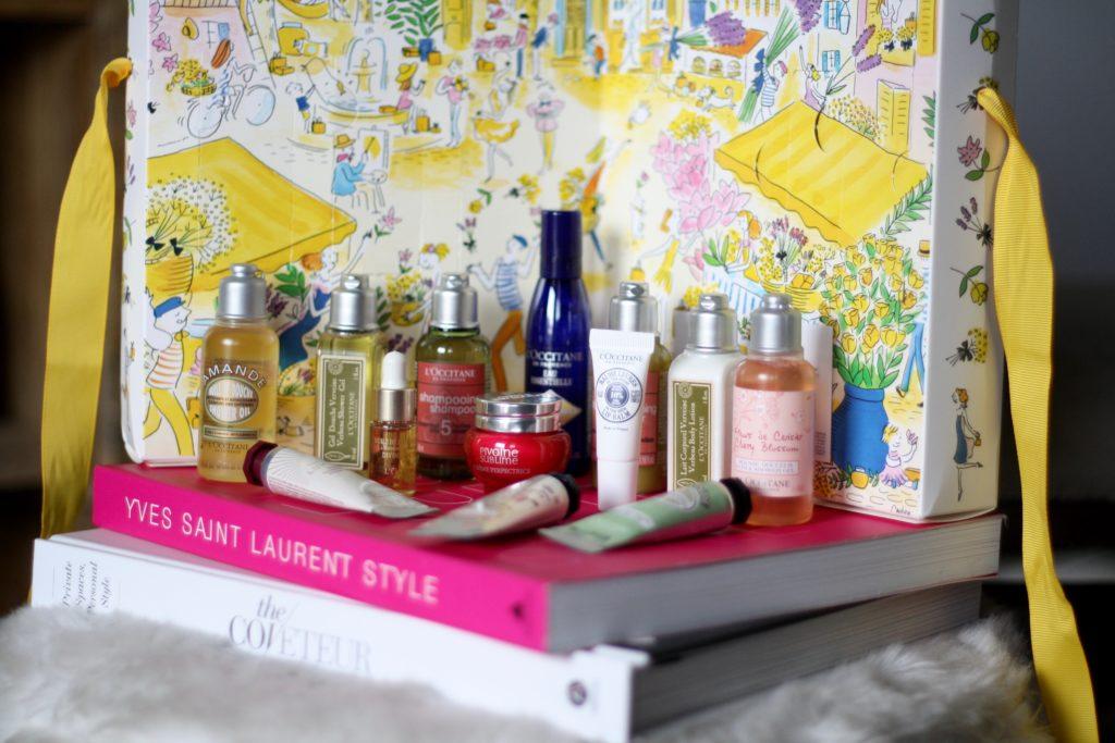 L'Occitane Summer Treasures Set 14 Piece Travel Size Product Set
