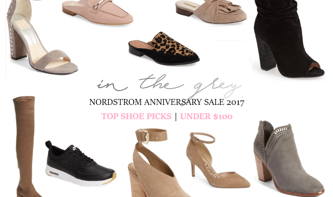Nordstrom Anniversary Sale 2017 Picks: Shoes Under $100