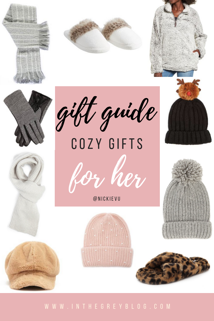 Gift Guide by In the Grey Blog Cozy Gifts for Her
