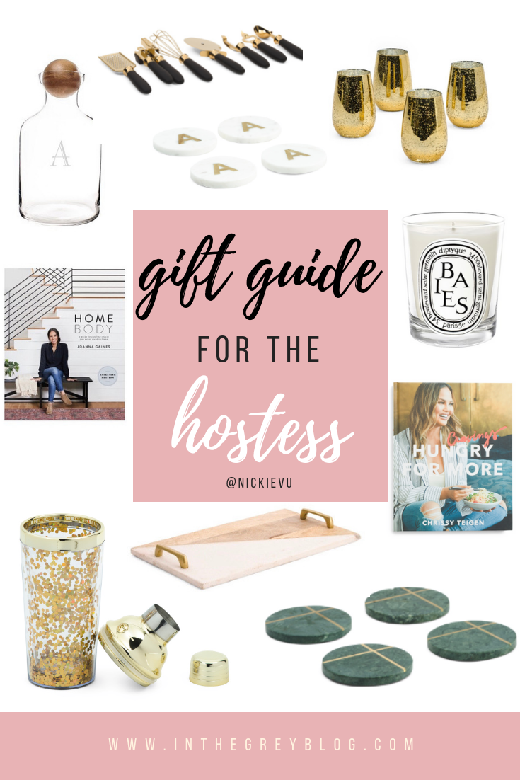 gift guide for the hostess - In the Grey Blog