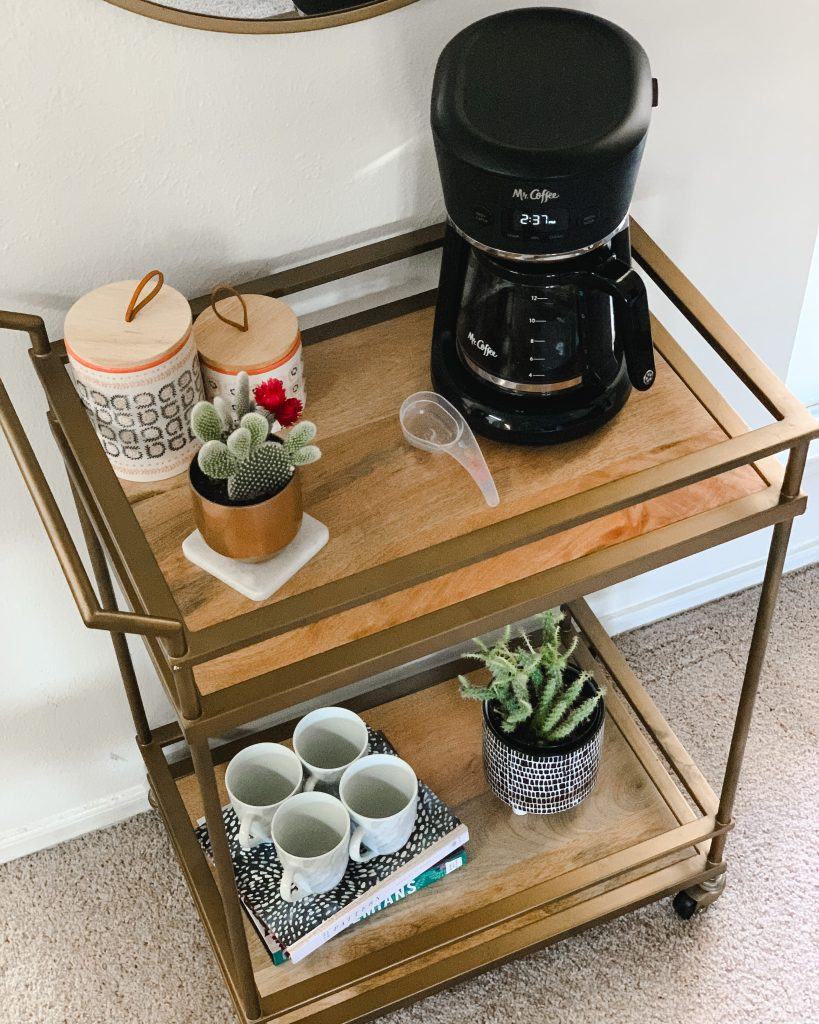 Mr. Coffee Easy Measure 12-Cup Programmable Coffeemaker - In the Grey Blog - Coffee Bar Cart