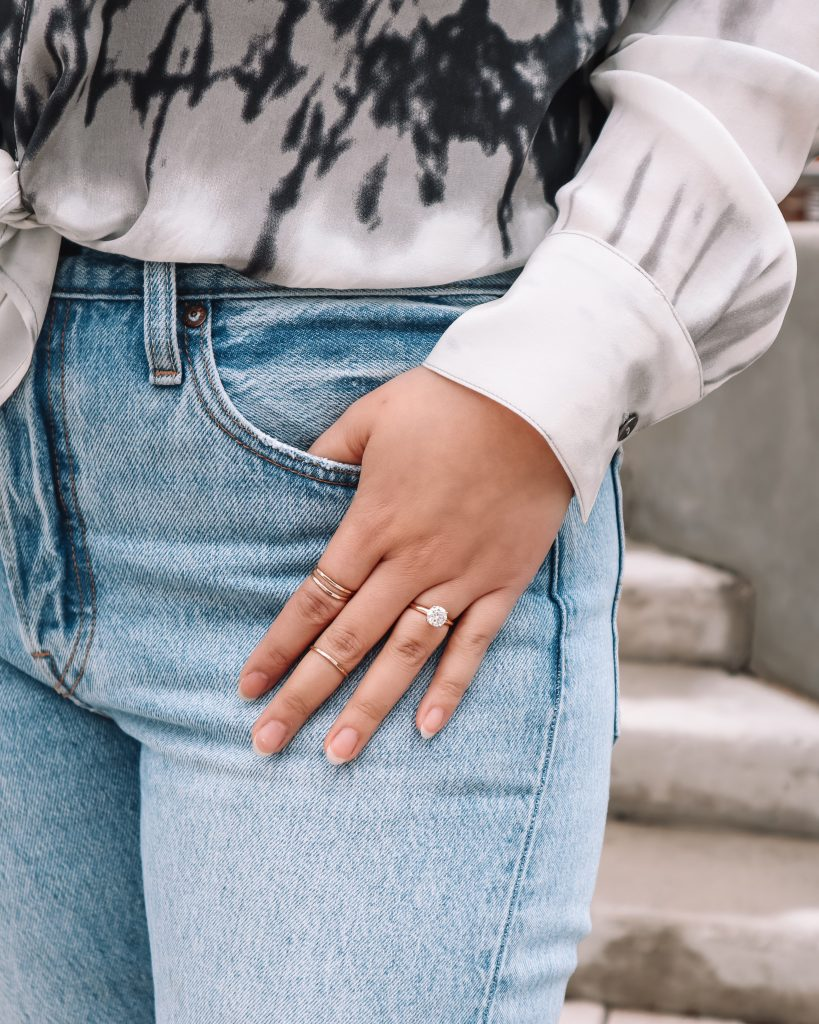 In the Grey Blog x James Avery x Delicate Forged Ring Set